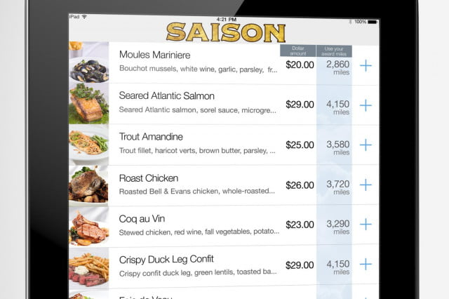 ipads are replacing waiters in airport restaurants pay by miles 02