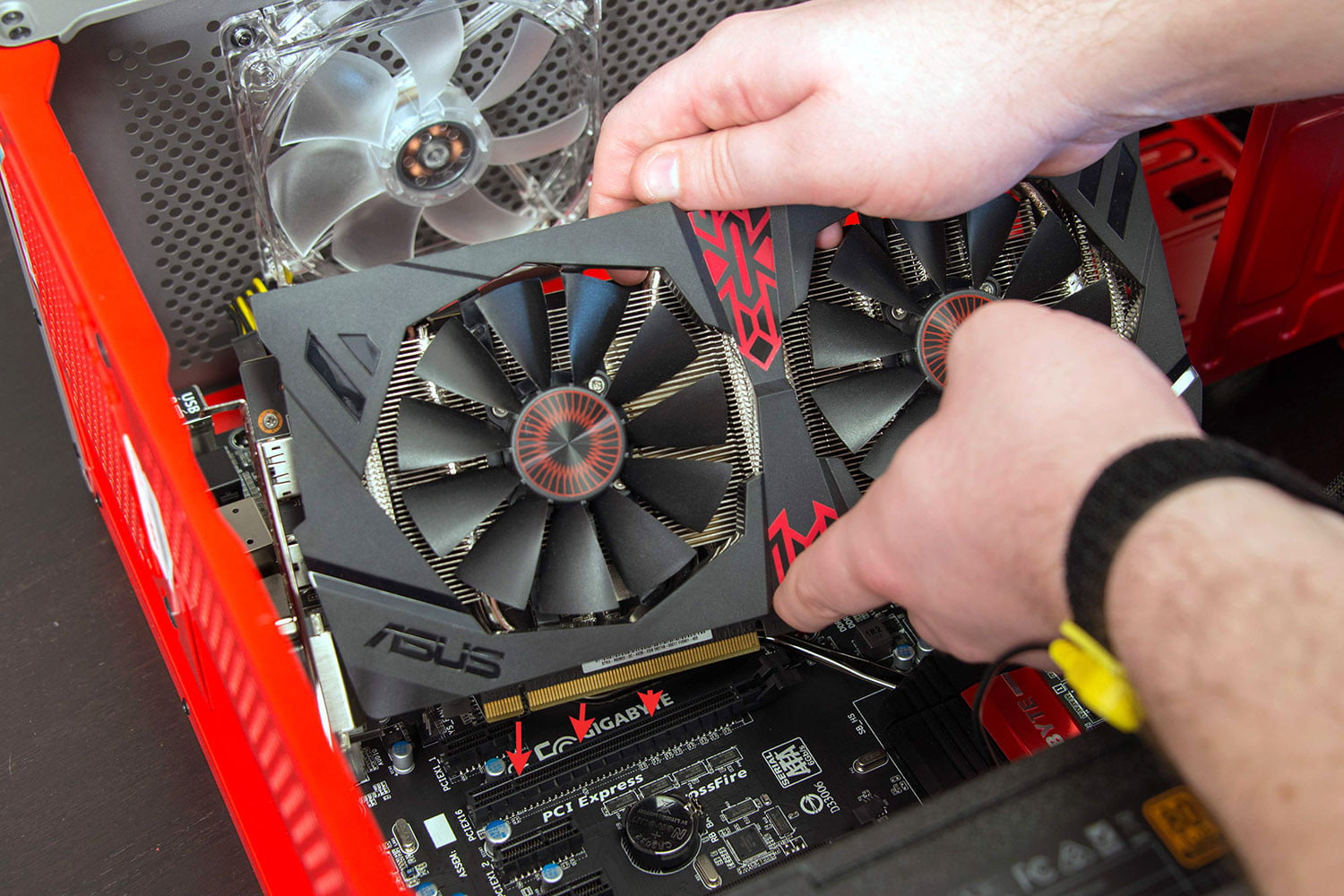 How To Troubleshoot A Diy Pc That Wont Start Digital Trends Switch Wiring Fan Cool Build Out Guide