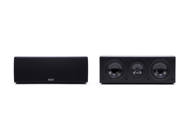 pioneer dolby atmos receivers and speakers elite sp ex73 central channel press image