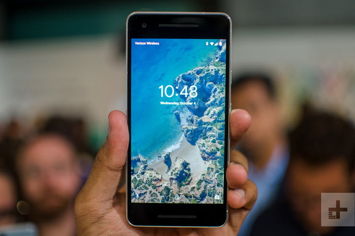 google lowers price of headphone adapter to match apple pixel 2 hands on black lock screen 1500x1000