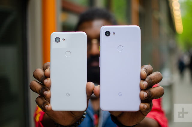 google pixel 3a and xl both hands on 1