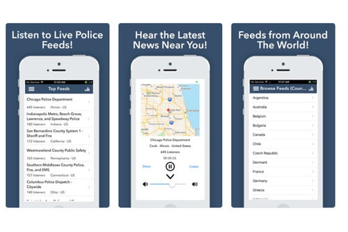 free police scanner app for android phone