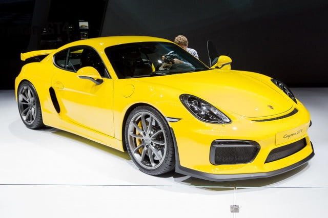 porsche cayman gt4 official pictures and specs 4