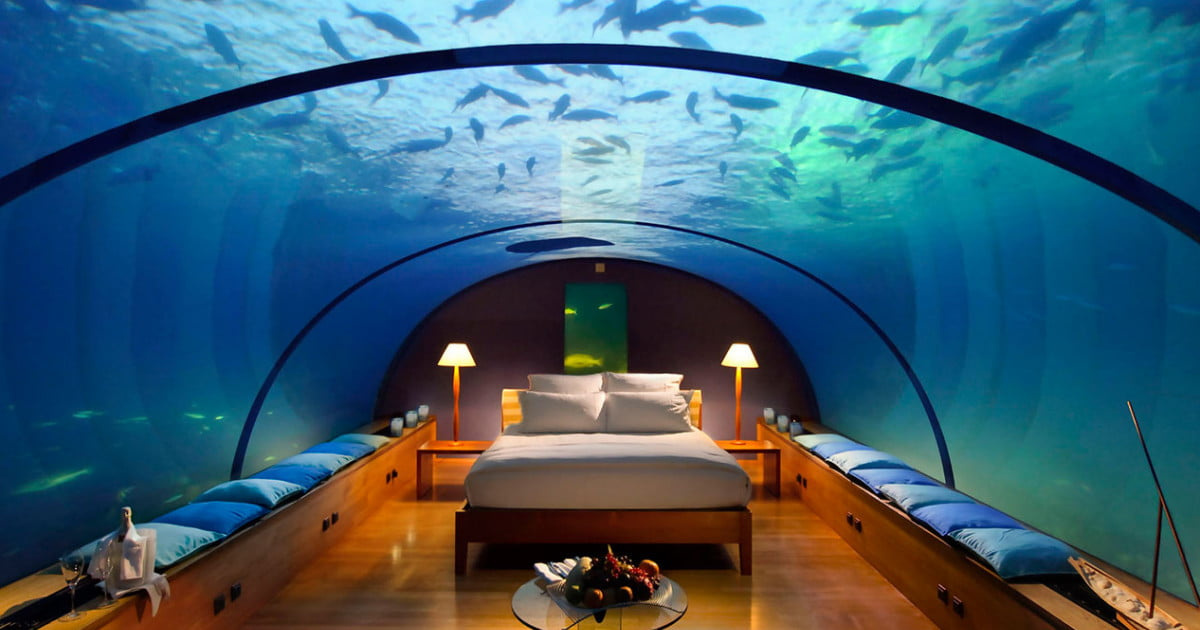 Vacation Beneath The Waves In The Best Underwater Hotels