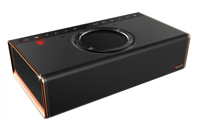 creative unveils iroar the most intelligent bluetooth speaker on planet product right angle