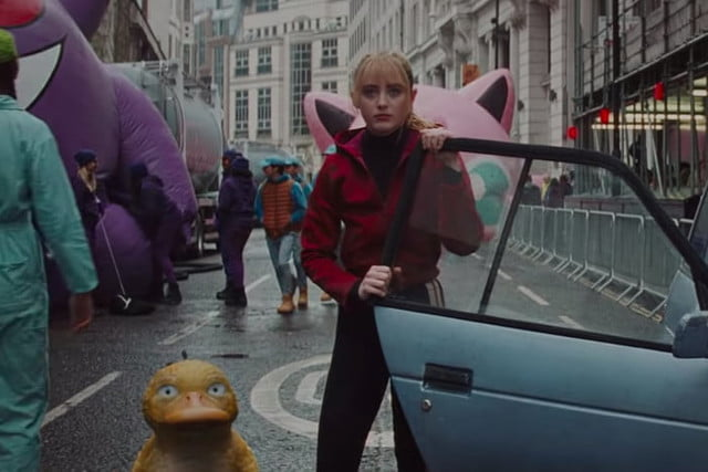 detective pikachu pokemon compared to their cartoon counterparts psyduck