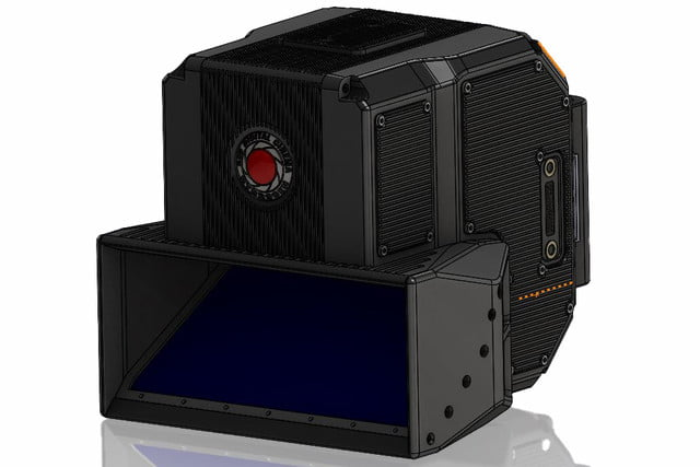 red lucid 4v holographic camera coming 3d