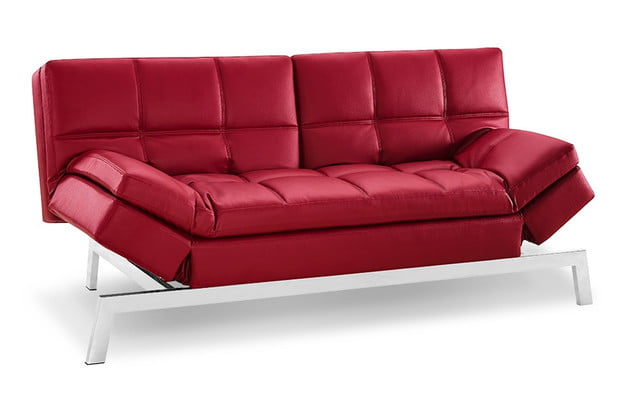 gjemeni transforming furniture red sofa