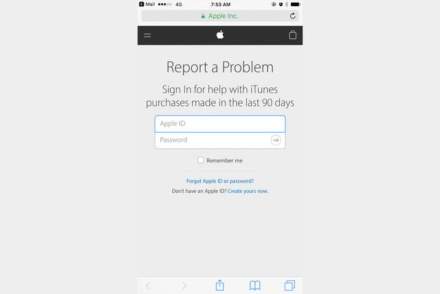 Report a Problem To Get a Refund From The Apple App Store or iTunes