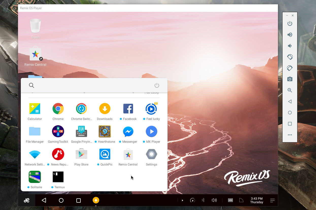 Image result for Remix OS Player