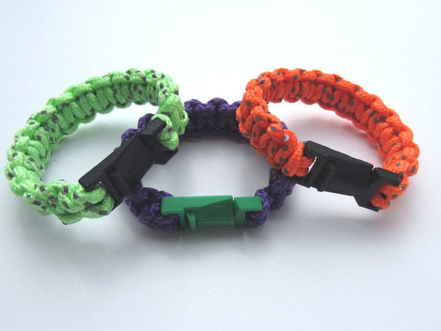 survival bracelet 3D 3D print backpacking hiking camping