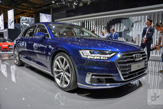 2019 Audi A8 front right