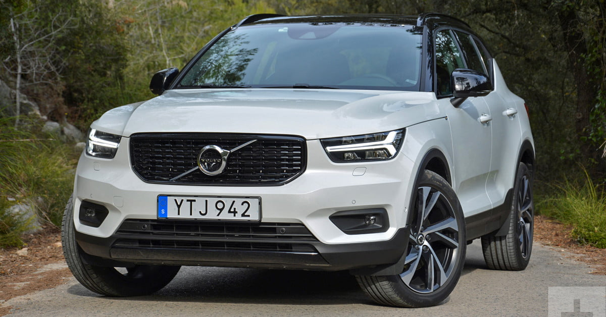 2019 volvo xc40 review driving impressions specs digital trends. Black Bedroom Furniture Sets. Home Design Ideas