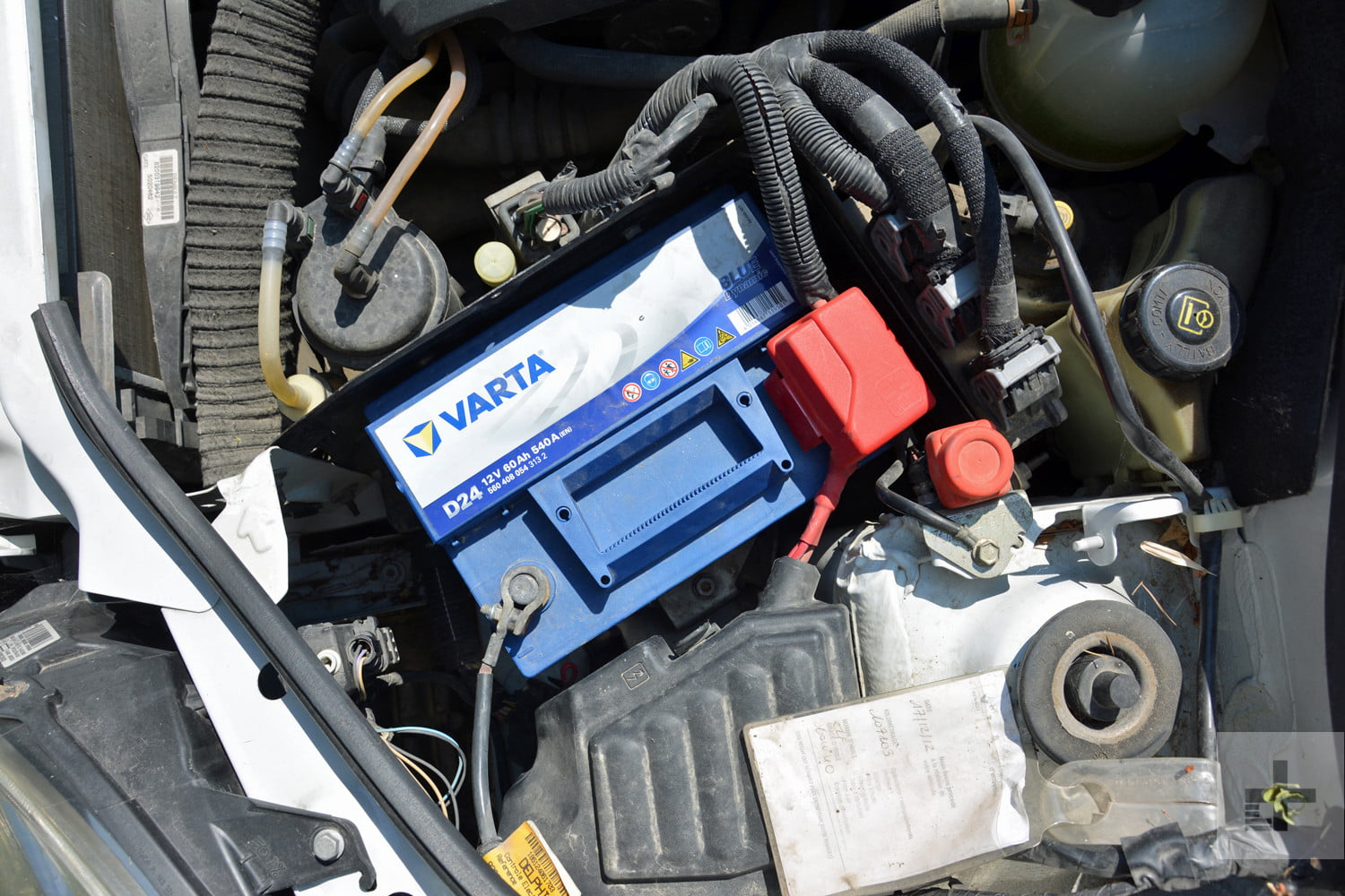 Instructions and Photos on How to Change a Car Battery ...