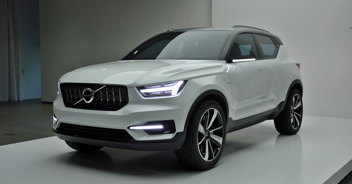 The first-ever XC40 will take Volvo into a brand-new ...