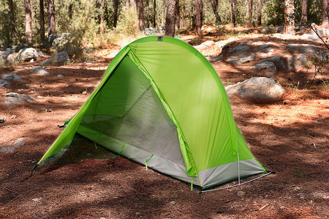 RhinoWolf Modular Attachable Super Tent green