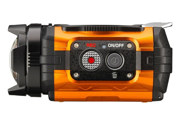 ricoh unveils its first action camera wg m1 3