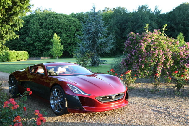 pioneering ev super car rimac secures investors 1088 hp concept one 7