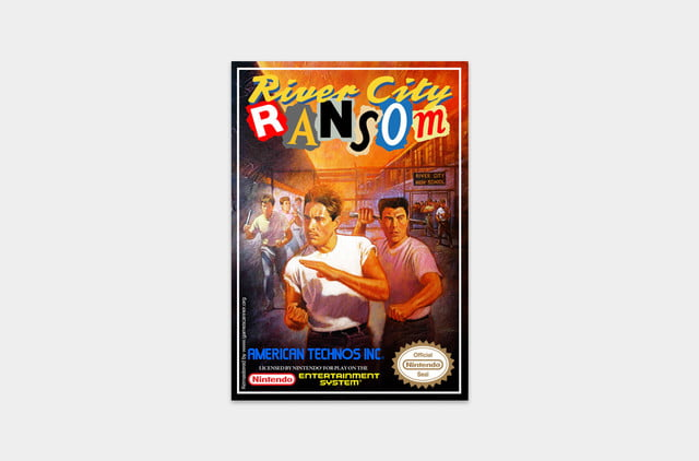 best nes games ever river city cover