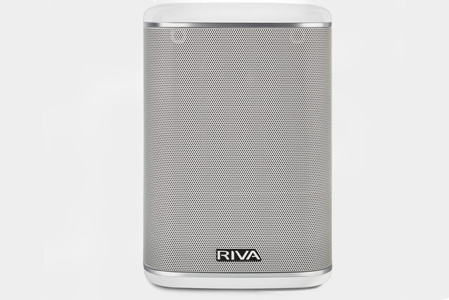 Riva Arena front face white