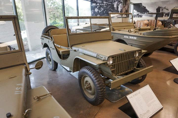 1941 Ford GP at the Omix-ADA Jeep Collection