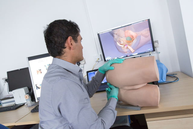medical students robot prostate exam a roborectum 4