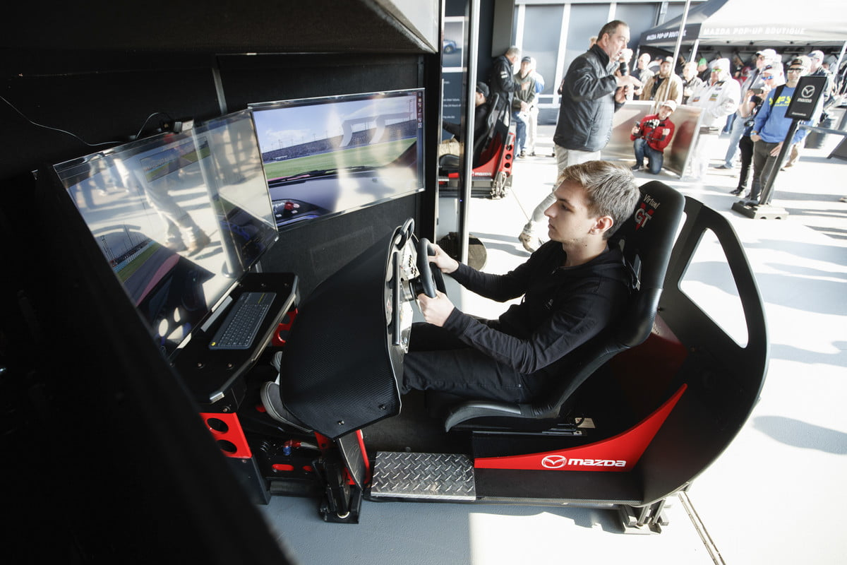 Sim racing gets real: iRacing gamer wins test in pro race car