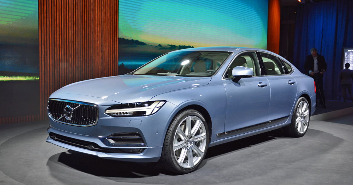 2017 volvo s90 sedan revealed pics specs digital trends digital trends. Black Bedroom Furniture Sets. Home Design Ideas