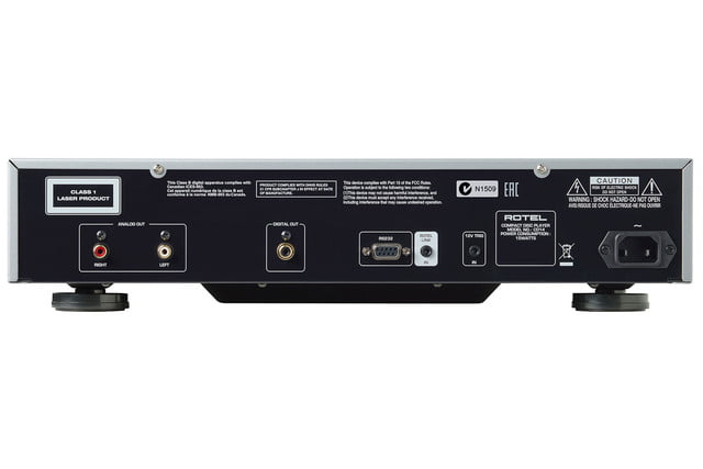 rotel introduces 14 series amplifiers cd player cd14 3