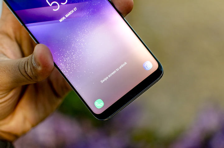 The Galaxy S8 Packs Weather And Health Features