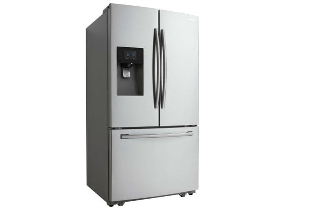 home depot chops samsung and lg french door fridge prices  24 6 cu ft refrigerator in stainless steel model rf263beaesr 03