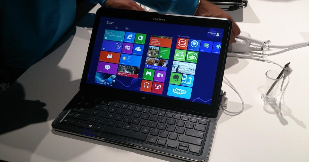Samsung Ativ Q Hands On: Android and Windows 8 working in ...