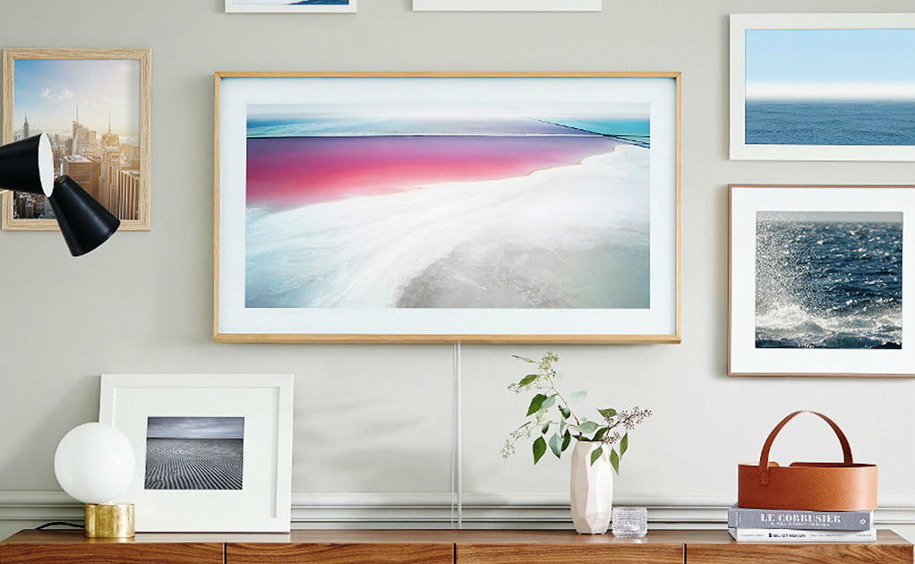 Replace Your Favorite Painting With Samsung S New Frame Tv