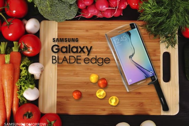 best april fools day jokes 2015 samsung galaxy blade edge