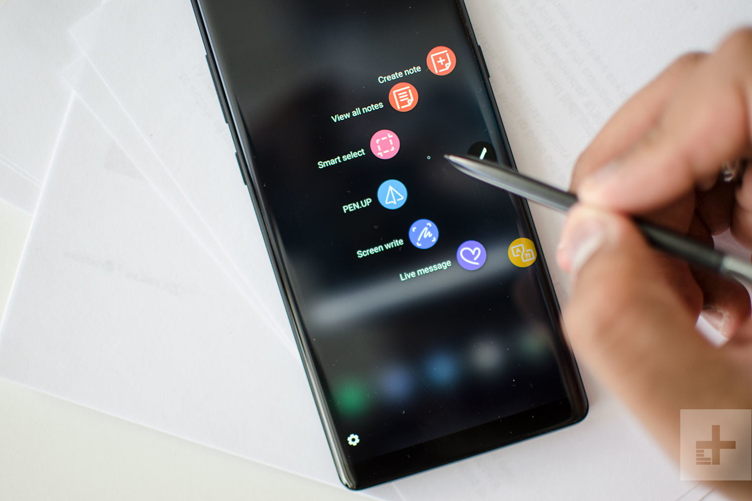 Samsung Galaxy Note 8 review app switch
