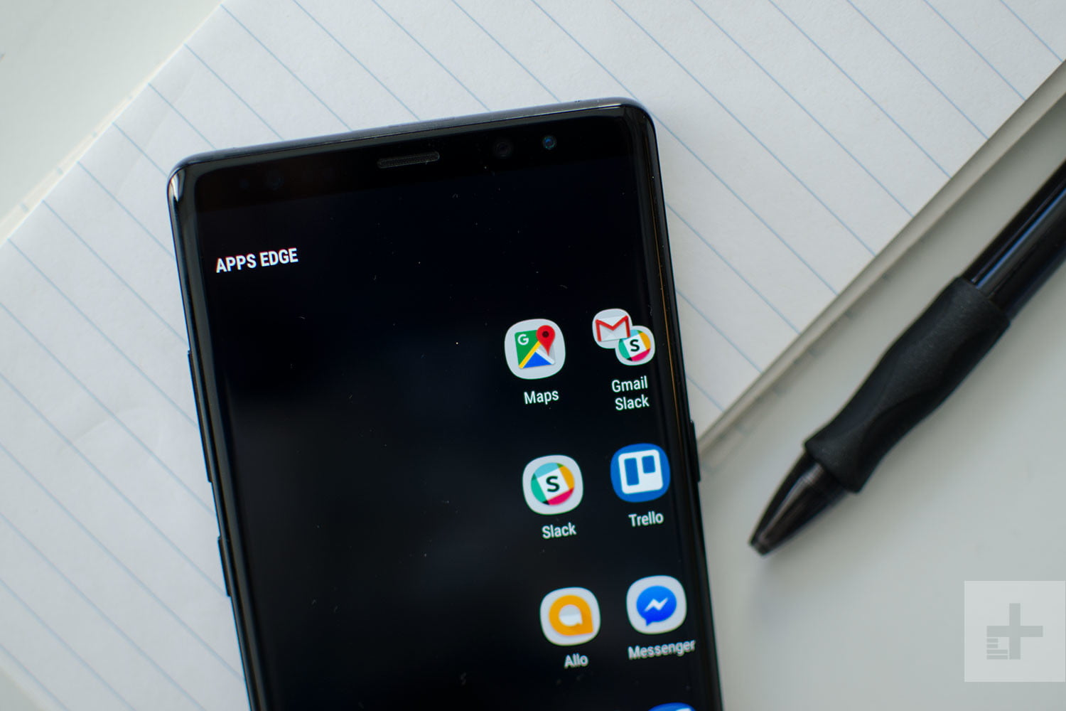 Samsung Galaxy Note 8 Review Apps Edge