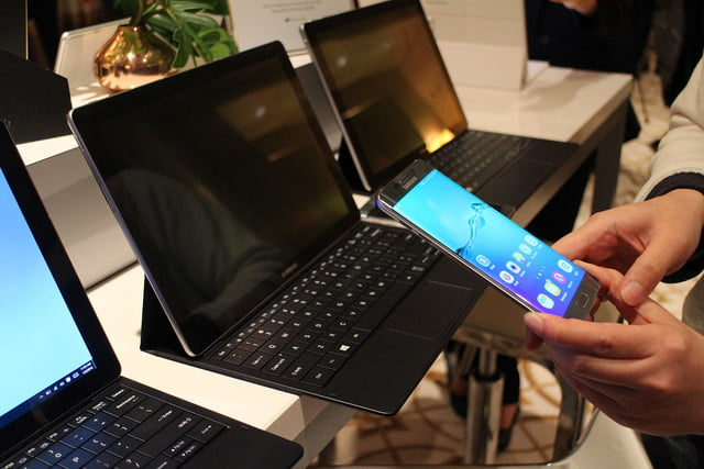 samsung tabpro s hands on ces 2016 galaxy 9792