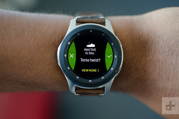 samsung galaxy watch 46mm exercise
