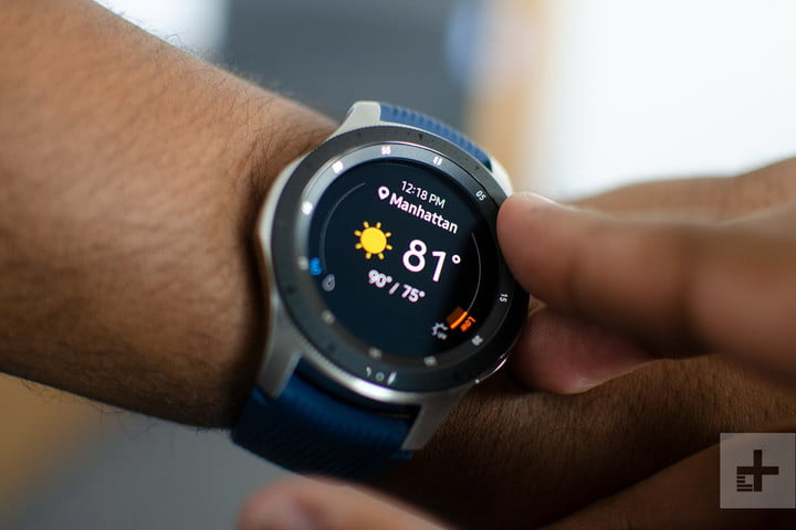 samsung galaxy watch 46mm weather