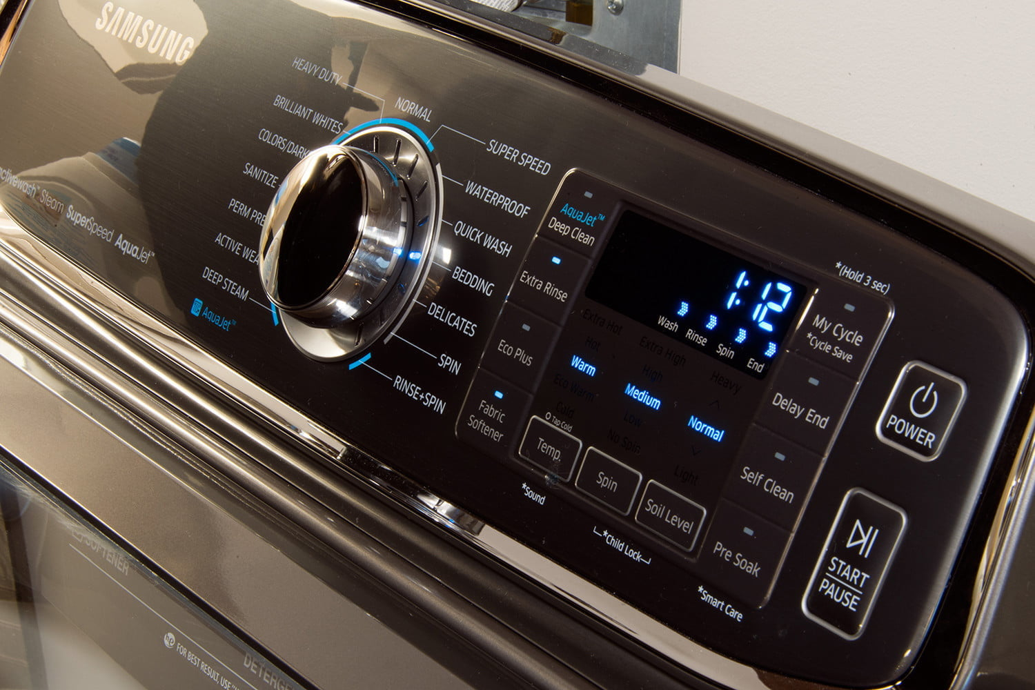 How to clean your washing machine the right way digital trends samsung activewash washer wa52j8700a panel1 biocorpaavc Images