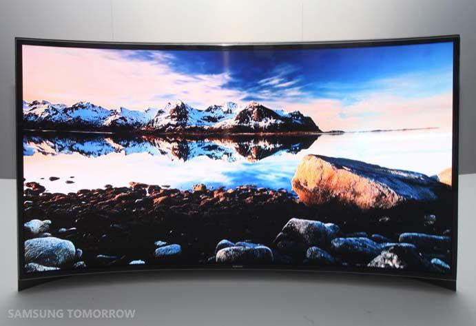 Why Are The First Oled Tvs In The Us Curved Digital Trends