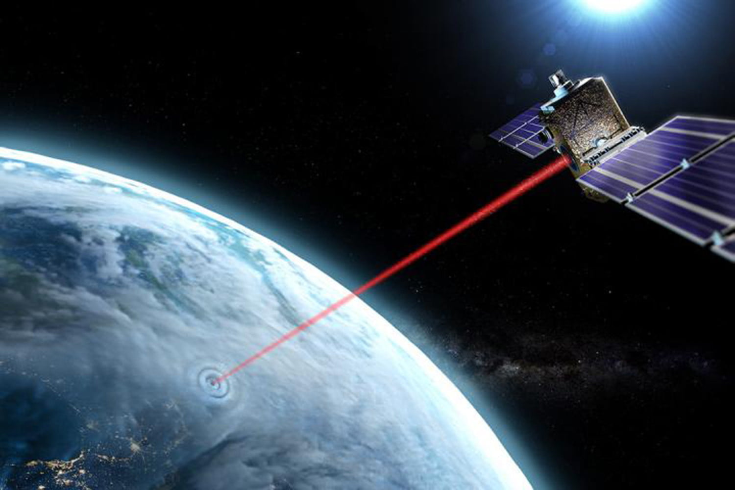 Scientists want to bore holes through clouds using lasers from satellites