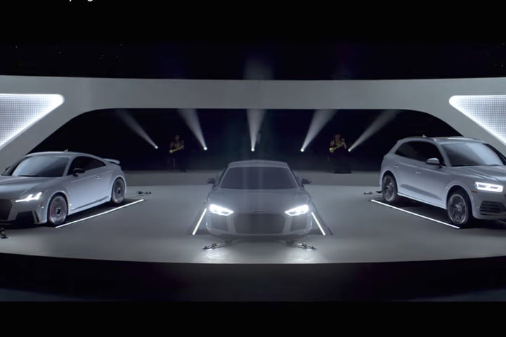Sing Along To Classic TV Theme Songs With Audis Engine Vocals - Audi car song