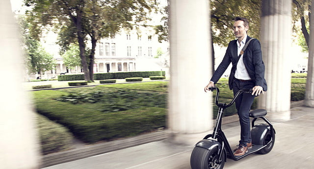 scrooser electric scooter minimalist design urban transport outdoor 02