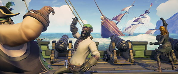 Set sail, plunder, or just grab grog. 'Sea of Thieves' is whatever you make it