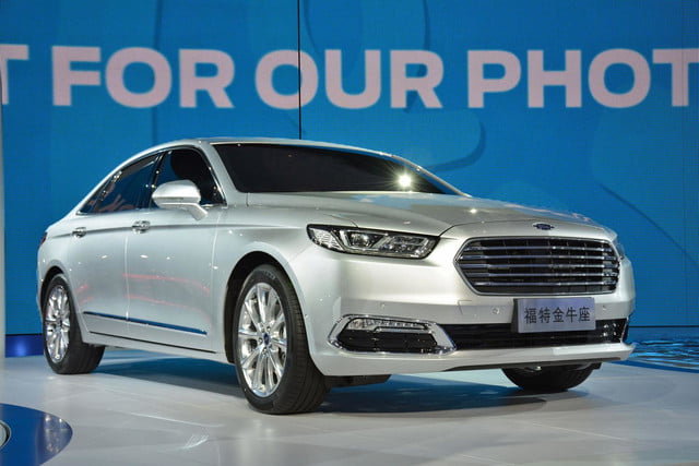 next ford taurus official pictures specs and performance shanghai 1