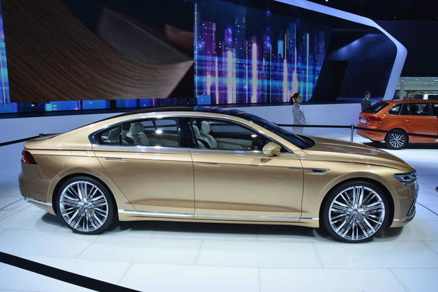 volkswagen c coupe gte concept official pictures and specs shanghai 3