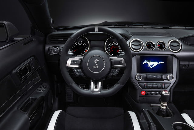 ford mustang history shelby gt350r interior