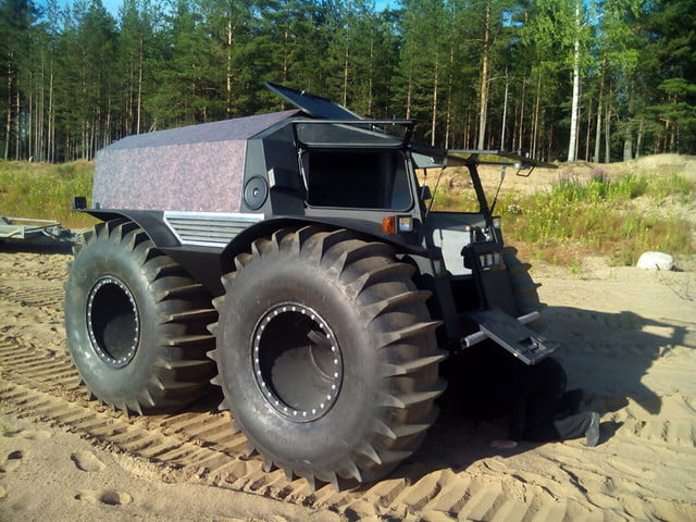 russian sherp atv self inflating tires 0006