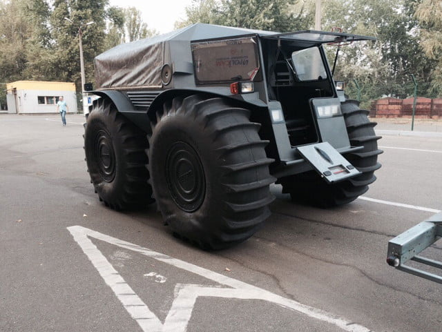 russian sherp atv self inflating tires 0007